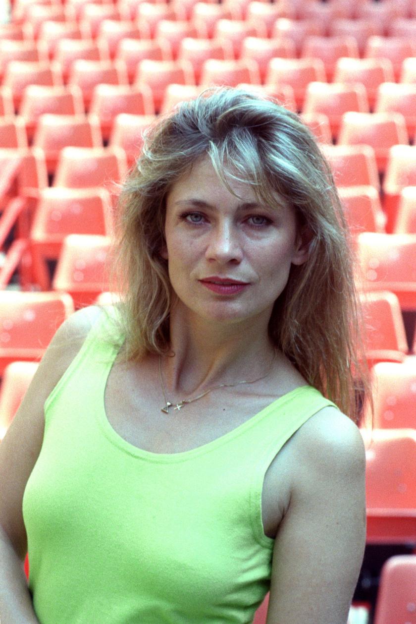 Bordán Irén színésznő 1982-ben.