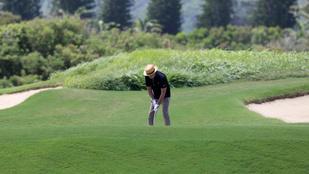 Felismeri a golfozó hírességet ezeken a képeken?