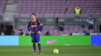 Lehet, hogy Lionel Messi lejátszotta utolsó meccsét a Barcában