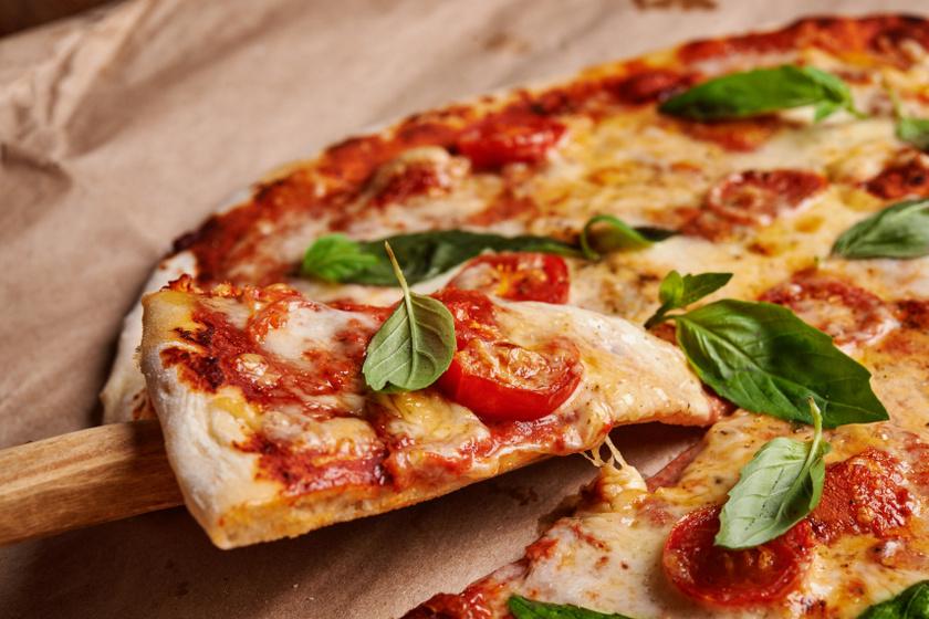 pizza belső