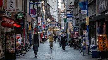 Defláció gyötri Japánt