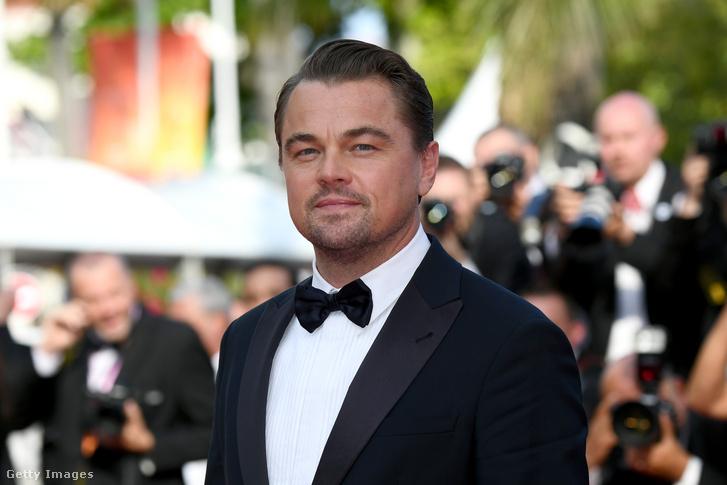 Leonardo DiCaprio a 72. Cannesi Filmfesztiválon 2019 május 21-én.