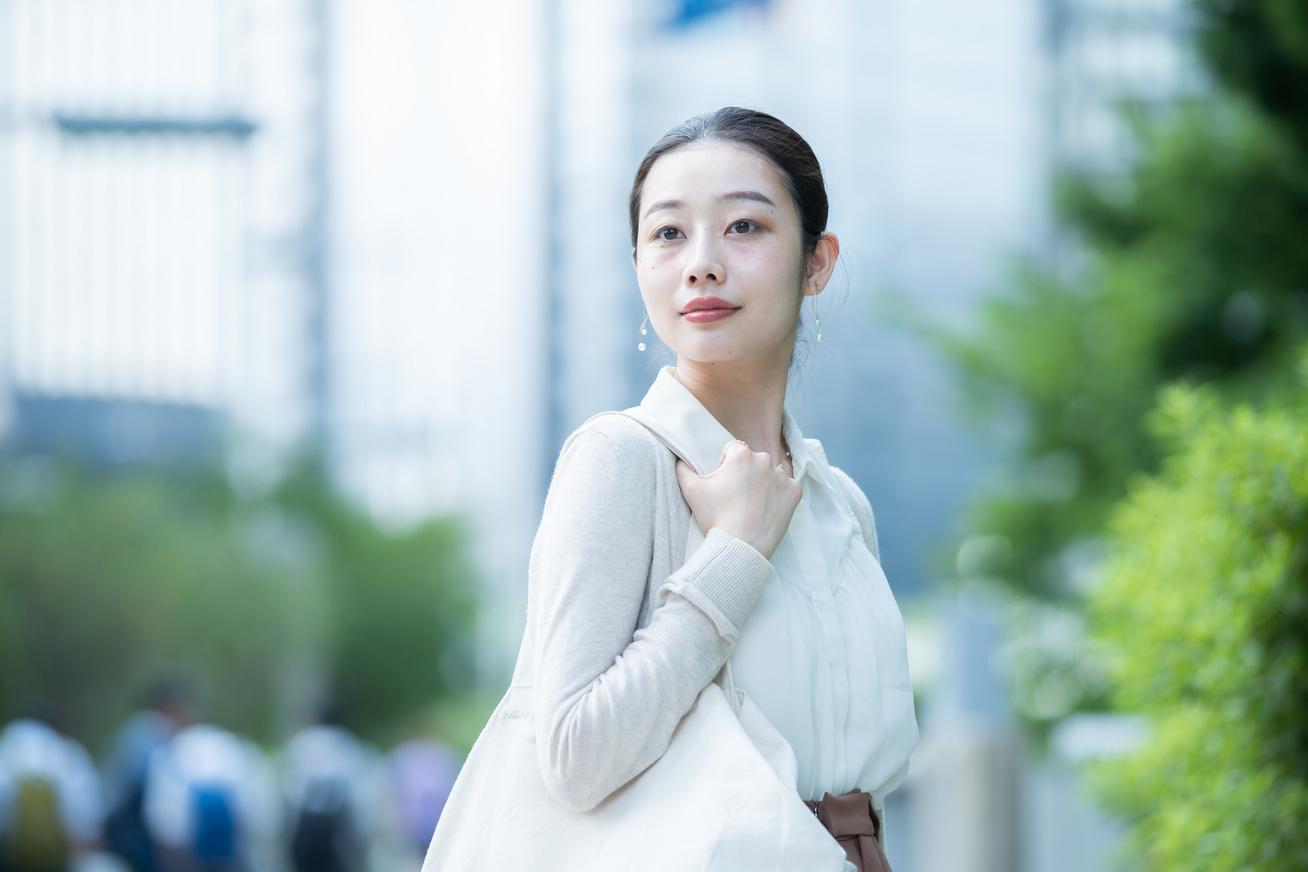 japán fiatal nő