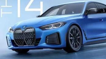 Így fest majd az M-es BMW i4