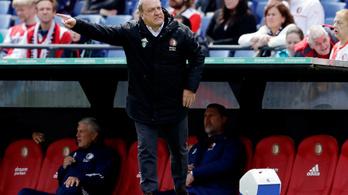Győztes meccsel mehet nyugdíjba a legendás holland edző