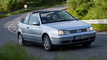 Használtteszt: Volkswagen Golf Cabriolet 1.6 – 2000.