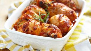 Balzsamecetes csirkecombok naranccsal – csilis, grillezett ananász mellett érdemes tálalnod