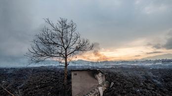 Elképesztő pusztítást végzett a kongói vulkánkitörés