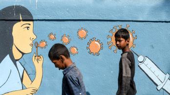 Az indiai mutáns veszélyesebb lehet a gyerekekre
