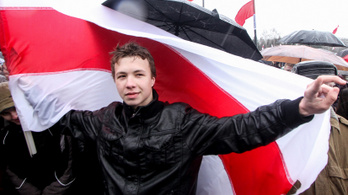 Amerika a fehérorosz újságíró szabadon bocsátását követeli