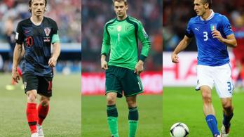 Legendás játékosok hattyúdala lehet a futball-Eb