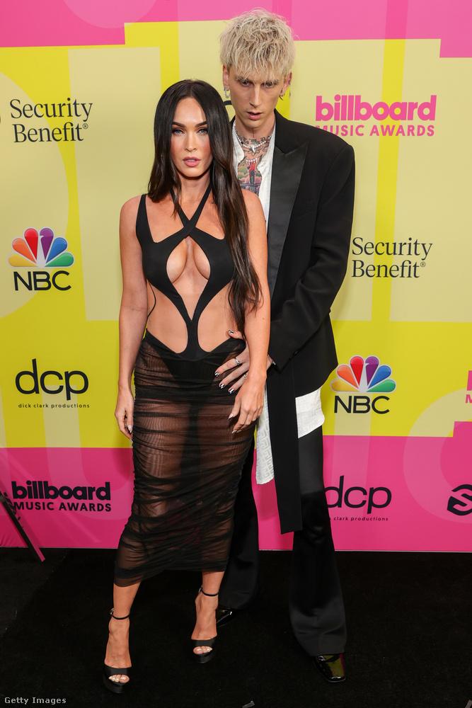 Vasárnap este volt Los Angelesben a Billboard Music Awards, és meghívottak között volt Megan Fox és Machine Gun Kelly is