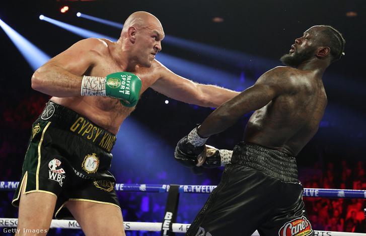 Fury (balra) megverte Wildert 2020 februárjában