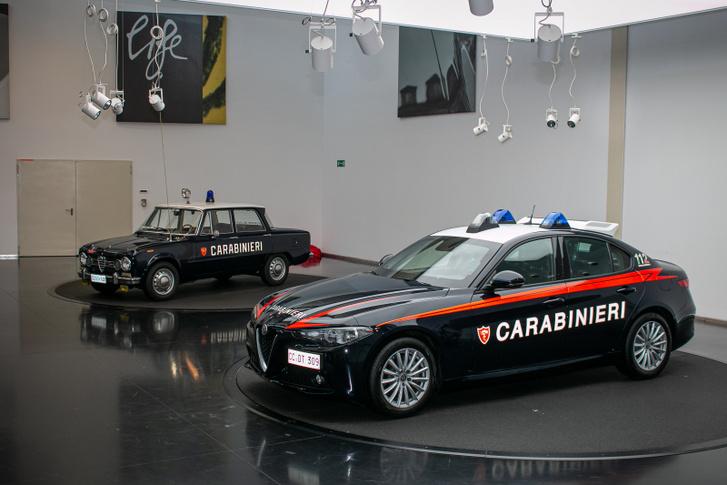 Az Alfa Romeo mindig számíthatott állami megrendelésre. A csendőrök idén is kaptak Giuliákat
