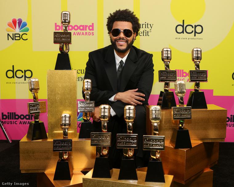 The Weeknd nyert pár díjat.