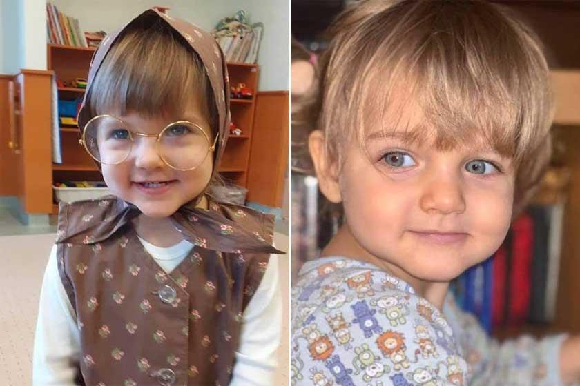 A három olimpiai aranyéremmel büszkélkedő sportolónő gyermekeivel nem lehet betelni. Kovács Katalin lányai, Luca és Júlia Léna kék szemű angyalkák.