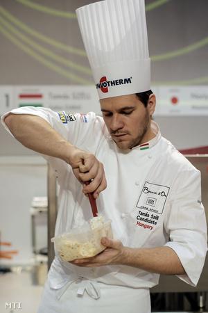 Széll Tamás a Michelin-csillagos Onyx étterem séfje