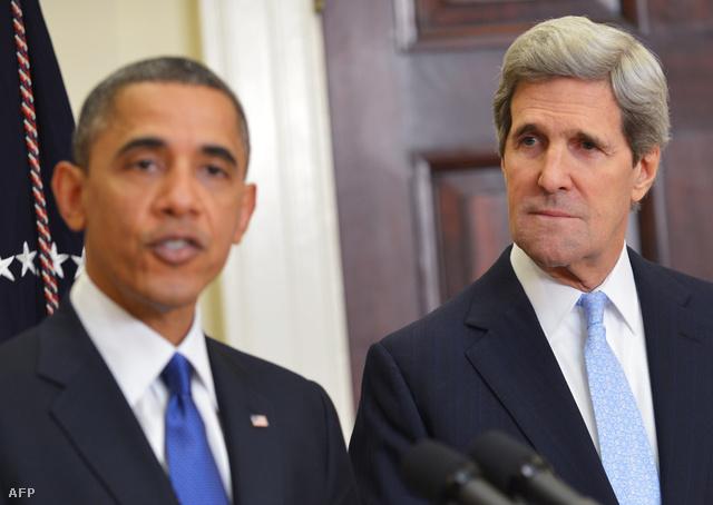 """""""Engedi Obama Kerryt Kerrynek lenni?"""""""