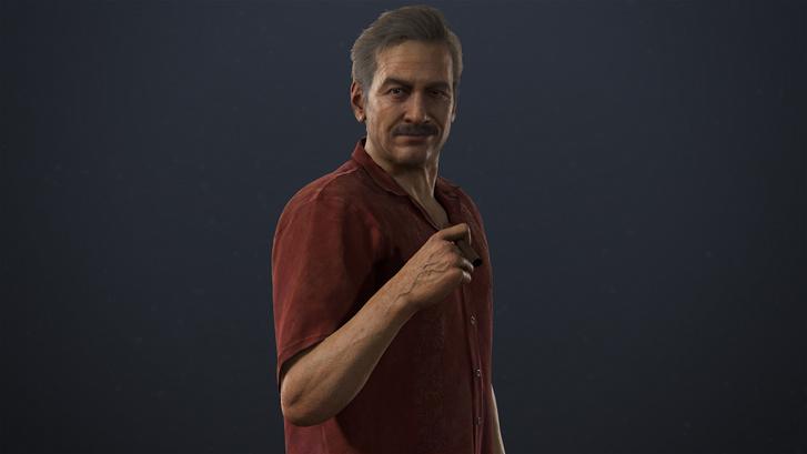 """Victor """"Sully"""" Sullivan az Uncharted játékokban. (Forrás: Sony)"""