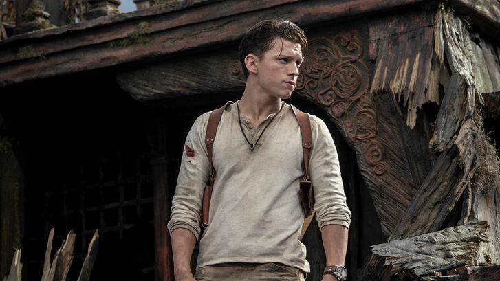 Tom Holland, mint Nathan Drake, az Uncharted játékok filmes adaptációjának főszereplője. (Forrás: Sony Pictures)