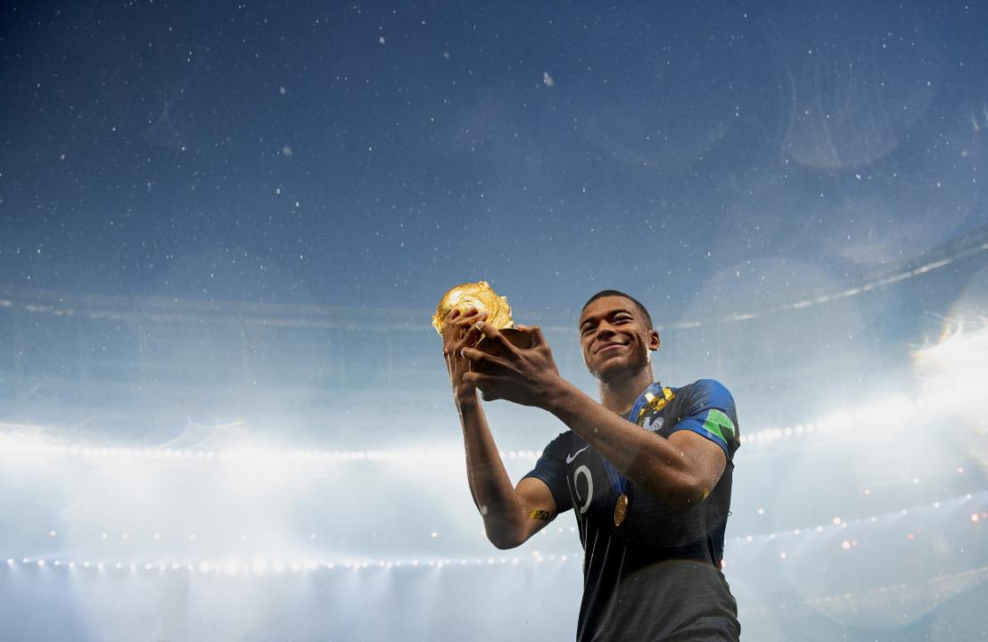 mbappé vb trófea