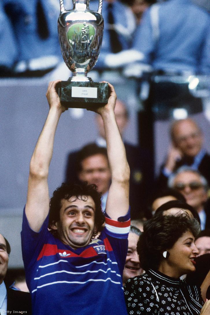 A franciák először 1984-ben értek a csúcsra