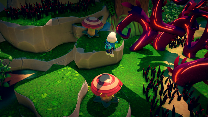 The Smurfs: Mission Vileaf (Forrás: Microids)