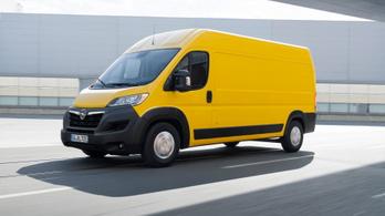 Az Opel Movano is Peugeot-alapon újul meg