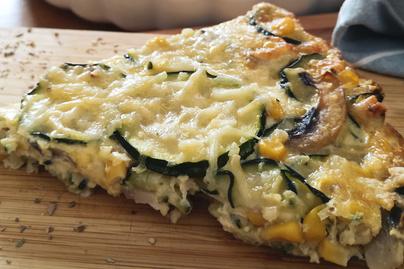 Puha, sós pite cukkinivel és kukoricával – Laktató, egészséges nyári fogás