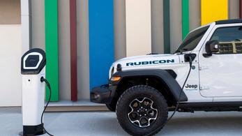 Hozzánk is megjött a hibrid Jeep Wrangler