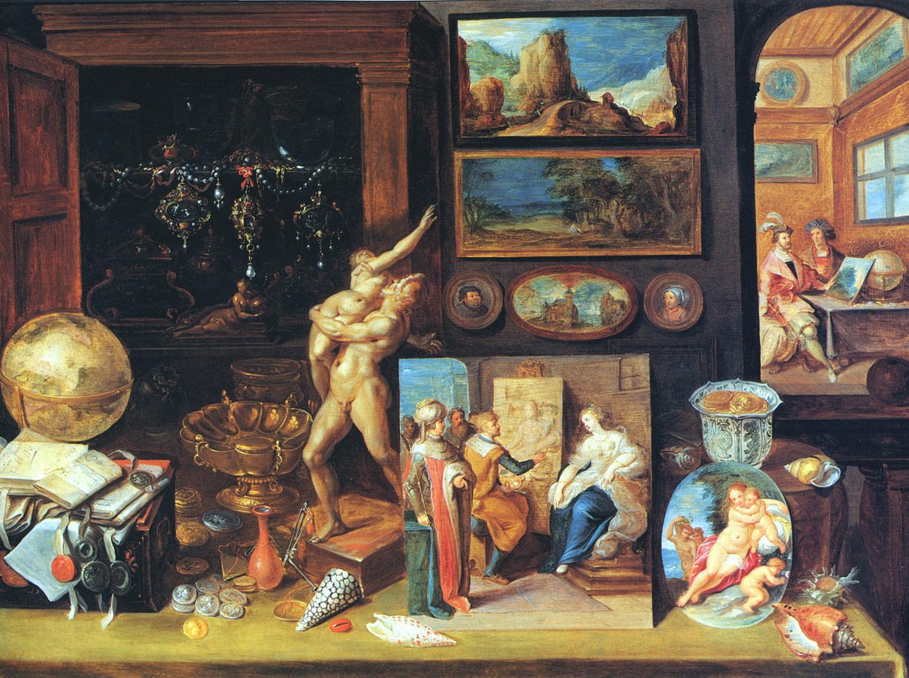 Frans Francken (II), A Collector's Cabinet (1625)