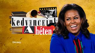 Kedvenceink a héten: a beszélő jetigofri esete Michelle Obamával