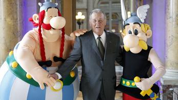 Kiállítással emlékeznek az Asterix rajzolójára