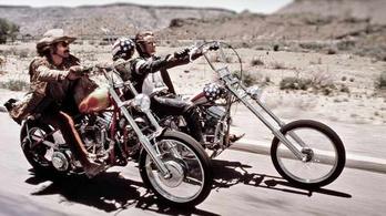 Rekordösszeget érhet a Szelíd motorosok Harley-ja