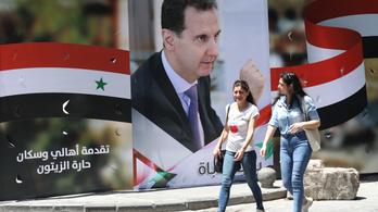 Aszad nyerte a szíriai elnökválasztást