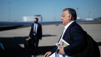 Orbán Viktor elindult Londonba