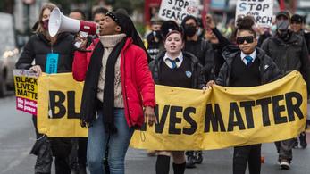 Öt embert tartóztattak le az angol BLM-aktivista megtámadása ügyében