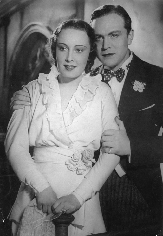 Lída Baarová és Gustav Fröhlich.