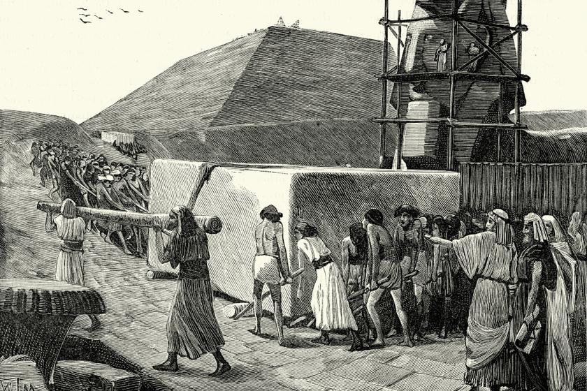 Hogy teltek az ókori piramisépítők hétköznapjai? Az egyiptomi papiruszok érdekes dolgokról mesélnek