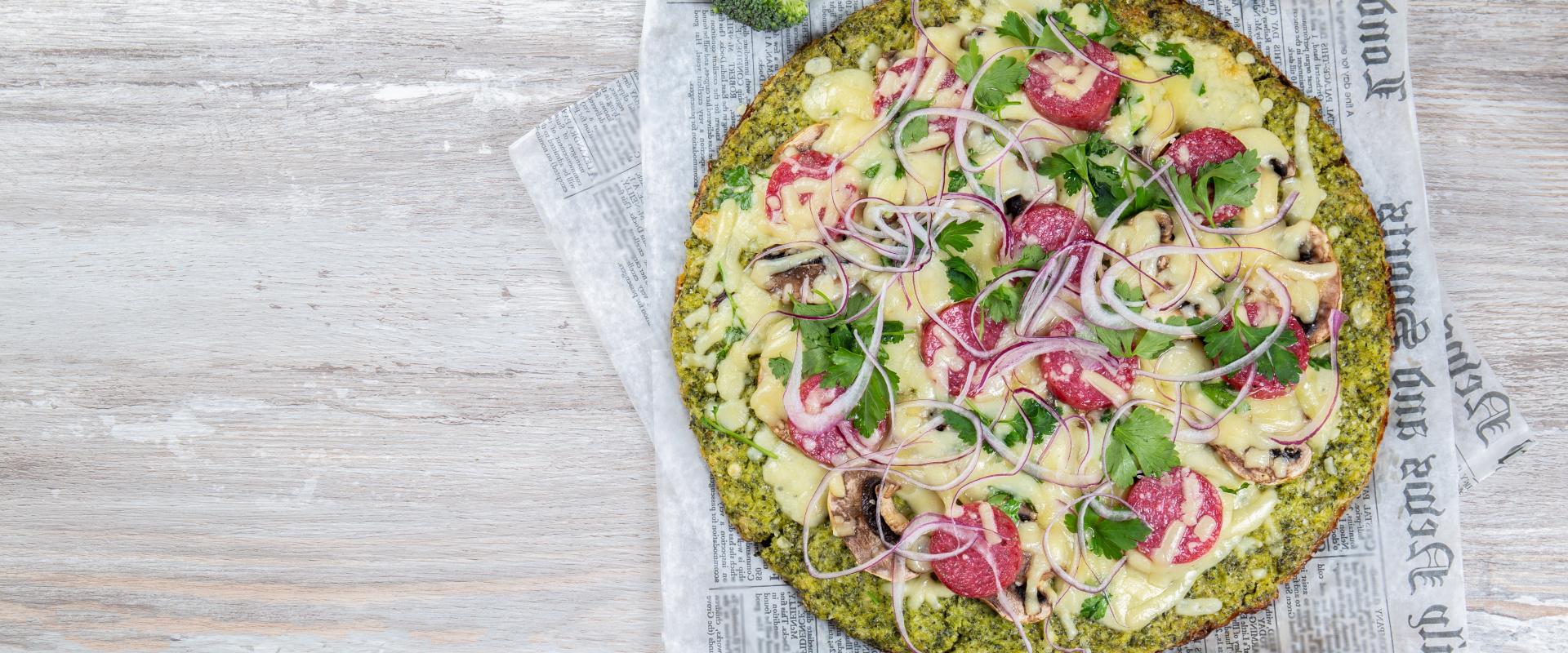 brokkoli pizza cover