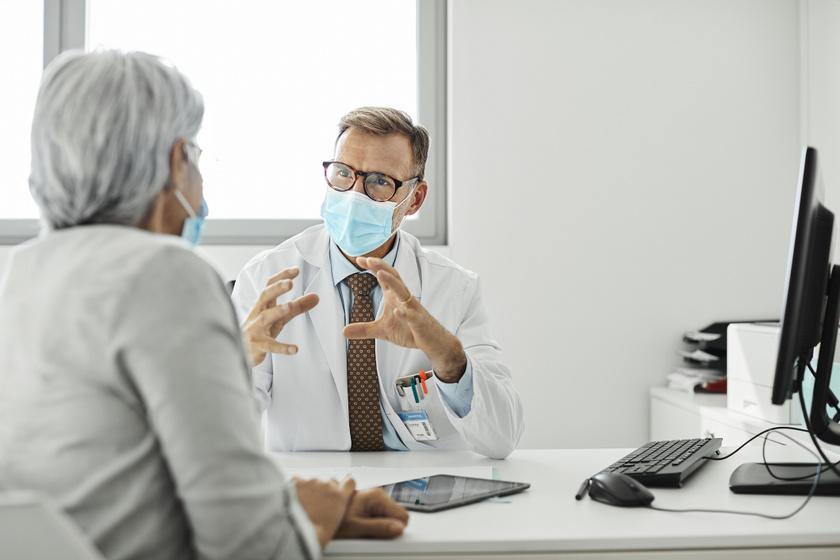 orvos doktor paciens beteg