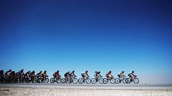 Hatásos, de veszélyes a biciklis peloton