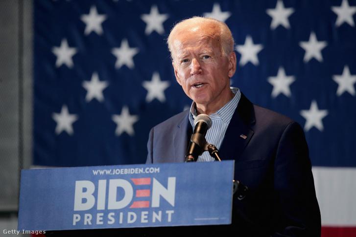 Joe Biden 2019. április 30-án