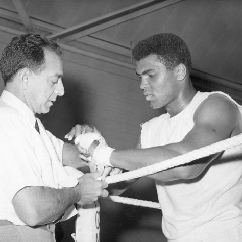 Ali és Angelo Dundee 1963-ban