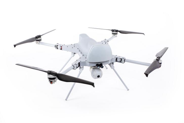 STM Kargu–2 drón, a gyártó cég szerint Loitering Ammunition, azaz készenléti lőszer. Ez a kamikazedrón hivatalos elnevezése