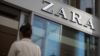 Most aztán mosakodhat a Zara