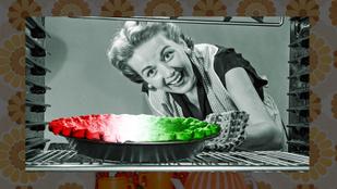"""Egy magyar szakácskönyv Amerikában, 1955-ben: 151 recept, népviselet, """"foghagyma"""""""
