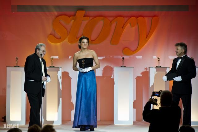 A Pesti Színház színésznője, Bata Éva kapta az első Érték-díjat