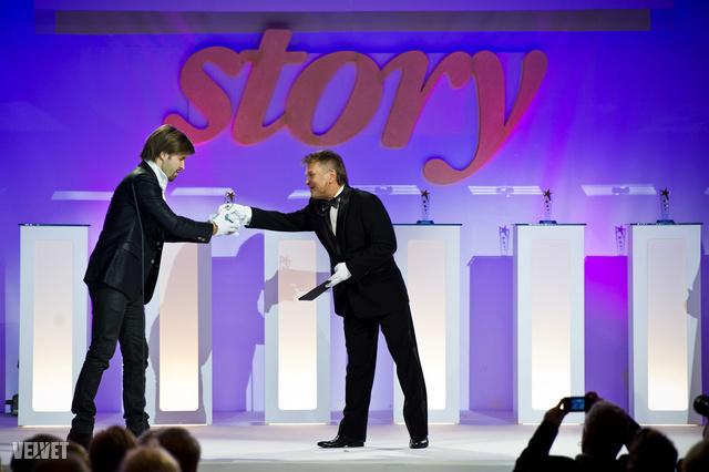 Sebestyén Balázs negyedjére lett Az év műsorvezetője, igaz, 2007-ben Vágó Istvánnak megosztva kapta meg a díjat.