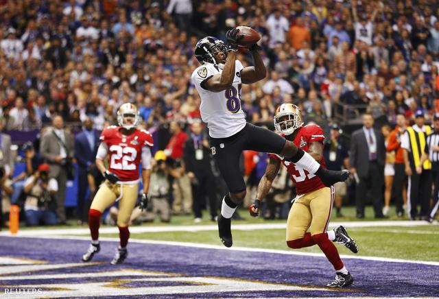 A Ravens kezdett erősebben, Anquan Boldin sorban szállította Flacco passzaiból a touchdownokat